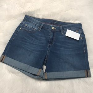 Tommy Hilfiger Distressed Jean Shorts NWT